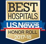 Best Hospitals U.S. News and World Report Honor Roll, 2017-2018